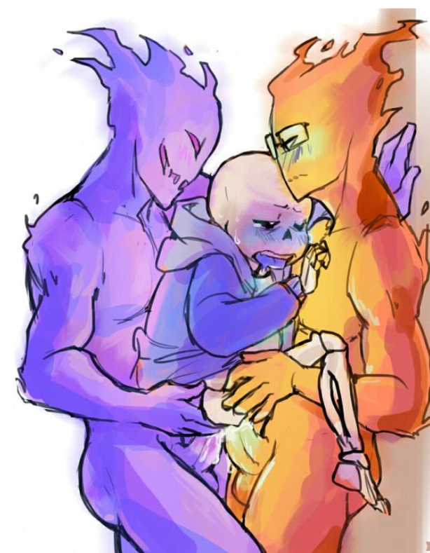 papyrus x sans underfell underfell These aren't my glasses e621
