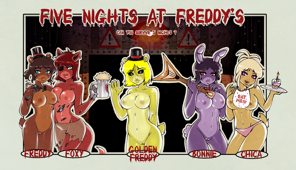 five at nights foxy freddy Cats don't dance