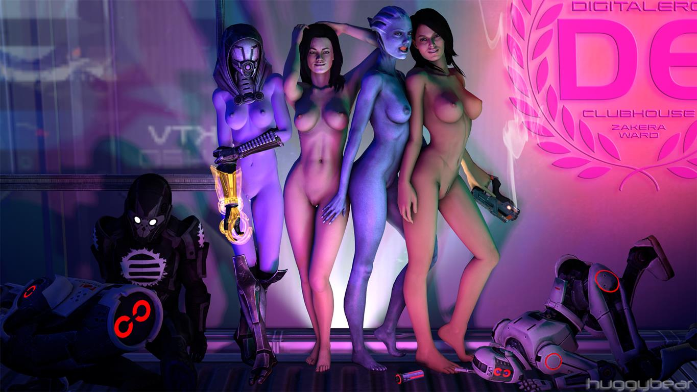 ashley mass williams effect nude All the way through tentacles