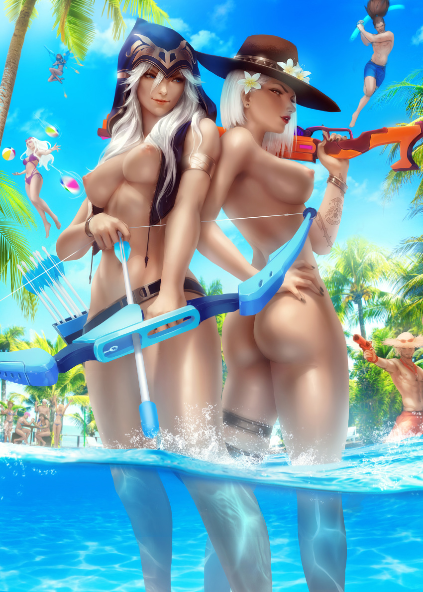 pool summers party the interracial Dark cloud 2
