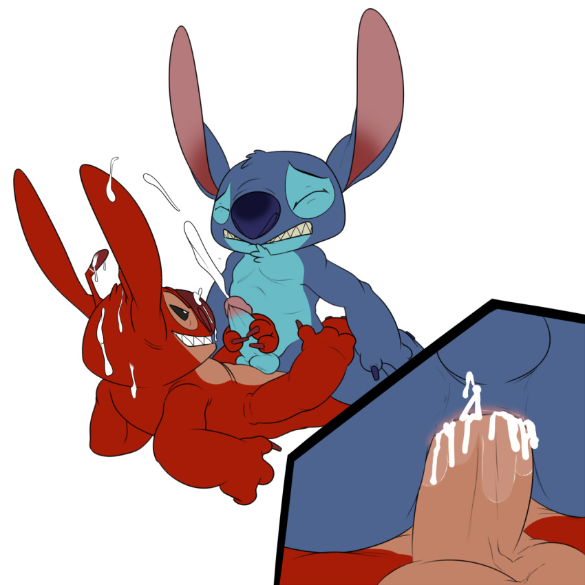stitch sex and lilo comic Anatomy of a fox melee
