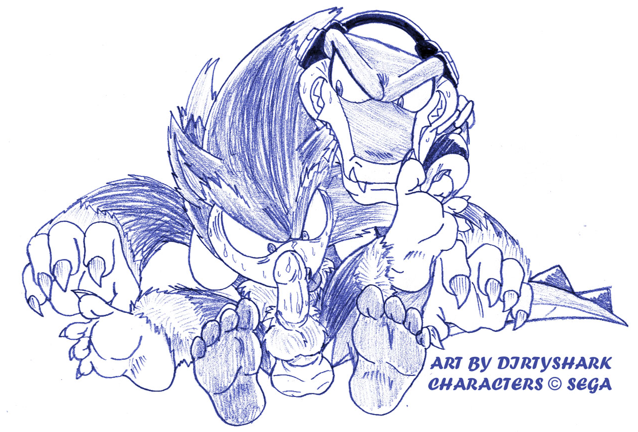 sonic werehog and the tails Oppai infinity! the animation
