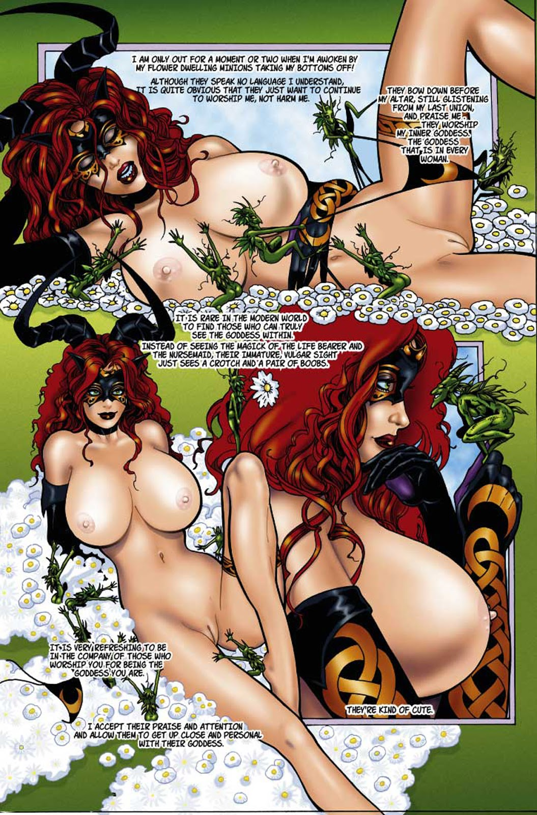rose witch tarot the raven of black hex Elizabeth seven deadly sins nude